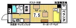 ポートリジェール78[611号室]の間取り