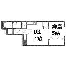 フォーレストII[3階]の間取り