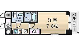 アーデン京町堀ウエスト[5階]の間取り