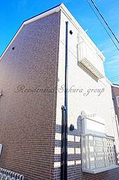 ハーミットクラブハウス大和B棟[101号室]の外観