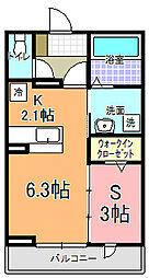 仮)元吉田町アパート[105号室]の間取り