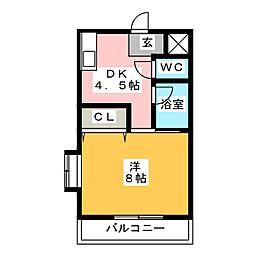 クオリスie[2階]の間取り