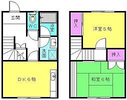 [テラスハウス] 兵庫県高砂市米田町米田 の賃貸【兵庫県 / 高砂市】の間取り