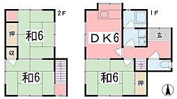 [一戸建] 兵庫県姫路市広畑区西蒲田 の賃貸【兵庫県 / 姫路市】の間取り