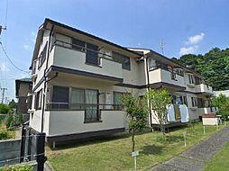 千葉県松戸市八ヶ崎緑町の賃貸アパートの外観