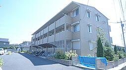 埼玉県熊谷市上之の賃貸アパートの外観