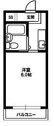 瑞光グリーンハイツ[3階]の間取り