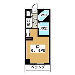 ドール塩釜口[1階]の間取り