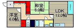 ビルヂィング77[4階]の間取り