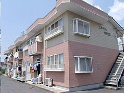 広島県福山市山手町4丁目の賃貸アパートの外観