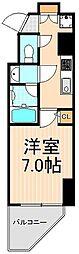 東京都台東区寿4丁目の賃貸マンションの間取り