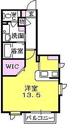 香櫨園高橋ガーデン[2階]の間取り