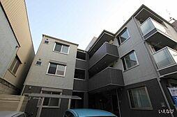 広島県福山市船町の賃貸アパートの外観