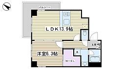 クレストヒル文京千石[8階]の間取り