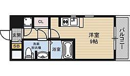 クレアート新大阪パンループ[7階]の間取り