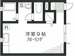 グランドール新宿[103号室号室]の間取り