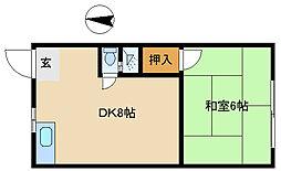 神田文化[2階]の間取り