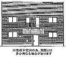 岡山県岡山市北区白石西新町の賃貸アパートの外観