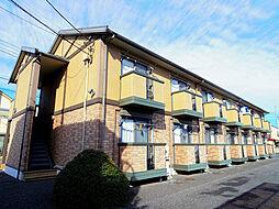 埼玉県狭山市富士見2丁目の賃貸アパートの外観