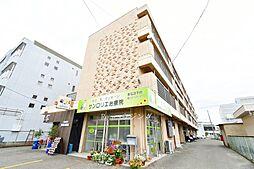 徳島県板野郡松茂町広島字東裏の賃貸マンションの外観