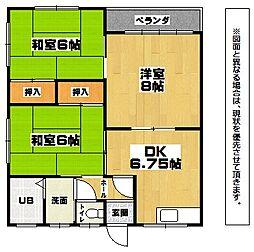 レグルスNUKI[2階]の間取り