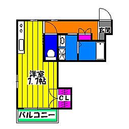 ラポール メゾン[2階]の間取り