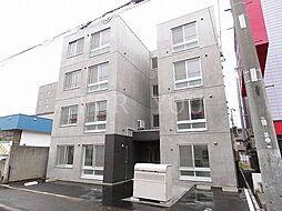 北海道札幌市白石区本郷通12丁目南の賃貸マンションの外観