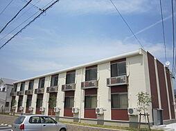 愛知県名古屋市緑区赤松の賃貸アパートの外観
