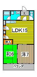 3-SEPIA I[6階]の間取り
