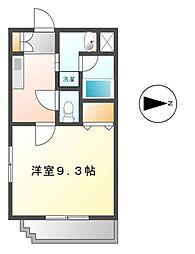 愛知県名古屋市熱田区神戸町の賃貸マンションの間取り