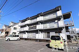 愛知県岡崎市東大友町字西浦の賃貸アパートの外観
