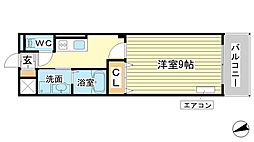 AXIO[5階]の間取り
