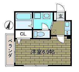 イリマコート[2階]の間取り
