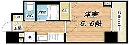 プレサンス本町プライム[7階]の間取り