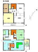 建物プラン施工例(2階建て参考間取り例)