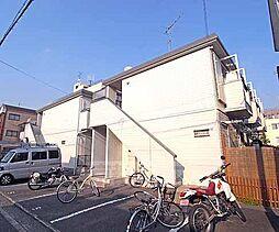 京都府京都市上京区石薬師通河原町西入新夷町の賃貸アパートの外観