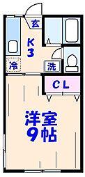 廣和荘[2階]の間取り