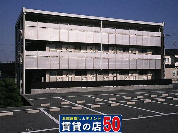 レオパレスハートピア15[3階]の外観
