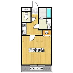 KMハイム[2階]の間取り