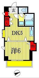 アーバンヒルズ船橋第2[3階]の間取り
