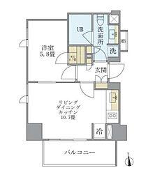 六本木一丁目駅 18.4万円