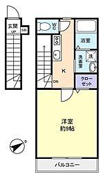 セレ八千代台南[2階]の間取り