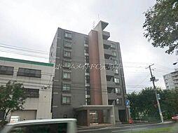 北海道札幌市東区北二十六条東15丁目の賃貸マンションの外観