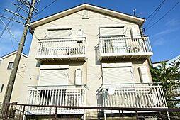 愛知県あま市甚目寺稲荷新田の賃貸アパートの外観