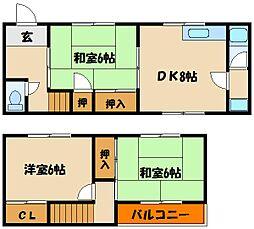 [タウンハウス] 兵庫県明石市太寺1丁目 の賃貸【/】の間取り