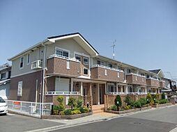 大阪府岸和田市加守町4丁目の賃貸アパートの外観