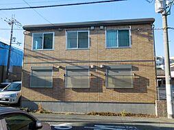 兵庫県伊丹市柏木町1丁目の賃貸アパートの外観