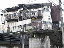 東京都大田区山王2丁目の賃貸アパートの外観