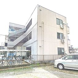 埼玉県草加市中根3丁目の賃貸マンションの外観