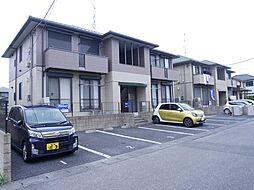 茨城県龍ケ崎市松ケ丘3丁目の賃貸アパートの外観